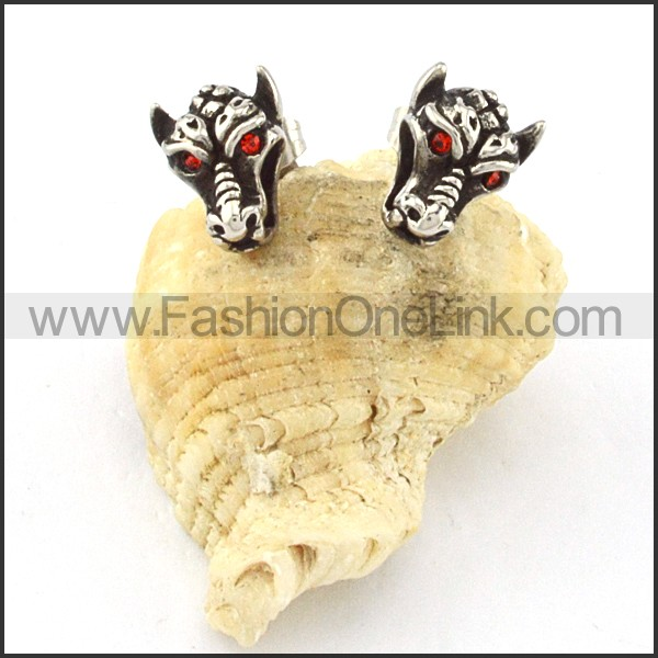 Lovely Stainless Steel Animal Earrings    e000423