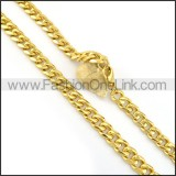 Gold Plated Necklace n000616