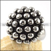 Stainless Steel Special Multi-Ball Design Ring r000065