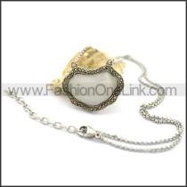 Decorous Stone Necklace n000755