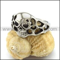 Unique Stainless Steel Skull Ring  r003217