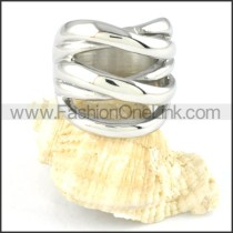 Stainless Steel Hollowed-out Design Ring r000131