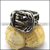 Exquisite Stainless Steel Casting Ring  r003312