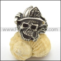 Unique Stainless Steel Skull Ring  r002709