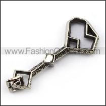 Exquisite Stainless Steel Casting Pendant   p004017