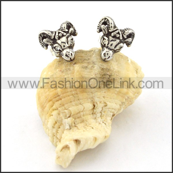 Lovely Stainless Steel Animal Earrings    e000424
