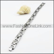 Exquisite Watch Strap Casting Bracelet b000060