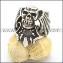 Popular Stainless Steel Skull Ring  r002123