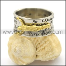 Delicate Casting Stainless Steel Ring  r002402