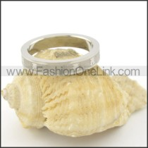 Comfort Fit Stainless Steel Ring r001535
