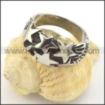 Vintage Stainless Steel Ring r001375