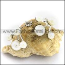 Fashion Stainless Steel Stone Earrings    e001095