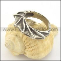 Vintage Stainless Steel Ring r001374