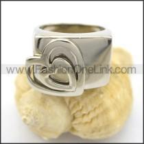 Elegant Comfort Fit Heart Shape Ring r001888