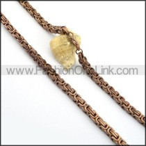 Graceful Plated Necklace n000697