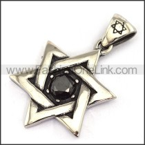 Delicate Stainless Steel Casting Pendant   p003677