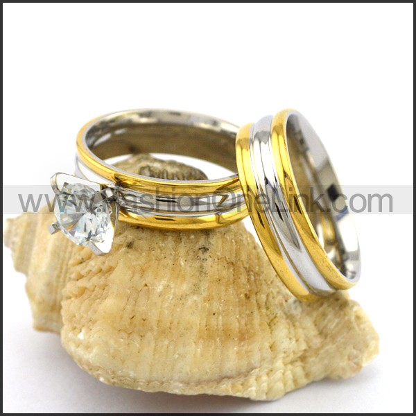 Elegant Stainless Steel Ring r003070