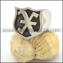 Letter X Ring r002363