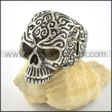 Exquisite Skull Ring r001560