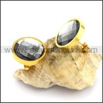Gradient Ramp Stone Earrings    e001092