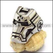 Unique Stainless Steel Casting Ring  r003196