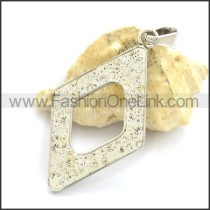 Hot Selling Stainless Steel Casting Pendant  p002223