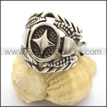 Vintage Stainless Steel Casting Ring  r001897