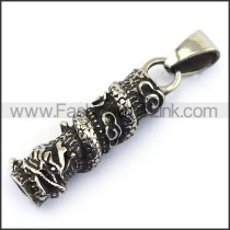 Delicate Stainless Steel Casting Pendant    p003505