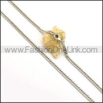 Delicate Interlocking Small Chain n000967