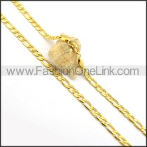 Exquisite Golden Plated Necklace n000691
