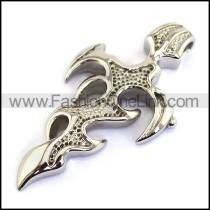 Delicate Stainless Steel Casting Pendant   p001753