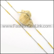 Hot Selling Plated Necklace    n000365