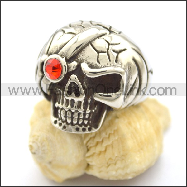 Exquisite Stainless Steel Skull Ring  r001781