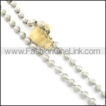 Succinct Coil Fashion Necklace n000476