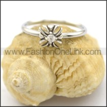 Graceful Stone Ring r002216