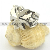 Stainless Steel Elegant Ring r001451