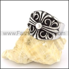 High Quality Stainless Steel Cross Ring r000553