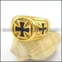 Dlicate Cross Ring r001578