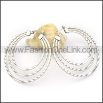 Good Quality Stainless Steel Plating Earrings      e000292