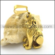 Delicate Stainless Steel Casting Pendant p002025