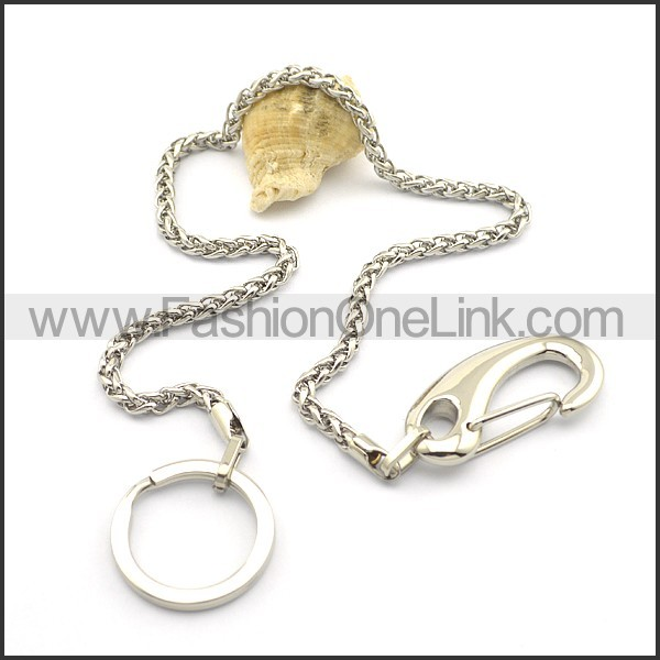Graceful Silver Small Chain n000915
