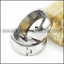 Classic Plating Stainless Steel  Earrings   e000008