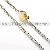 Succinct Stamping Necklace     n000322