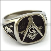 Delicate  Stainless Steel Casting Ring   r003402