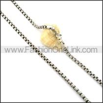 Exquisite Interlocking Stamping Necklace    n000338