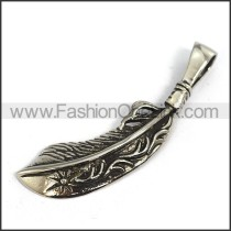 Delicate Stainless Steel Casting Pendant    p003543
