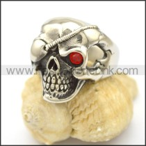 Unique Stainless Steel Skull Ring  r002798
