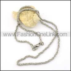 Elegant Stainless Steel  Small Chain    n000415