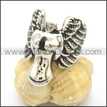 Unique Stainless Steel Casting Ring  r002773