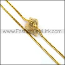 Elegant Gold Plated Necklace n001045